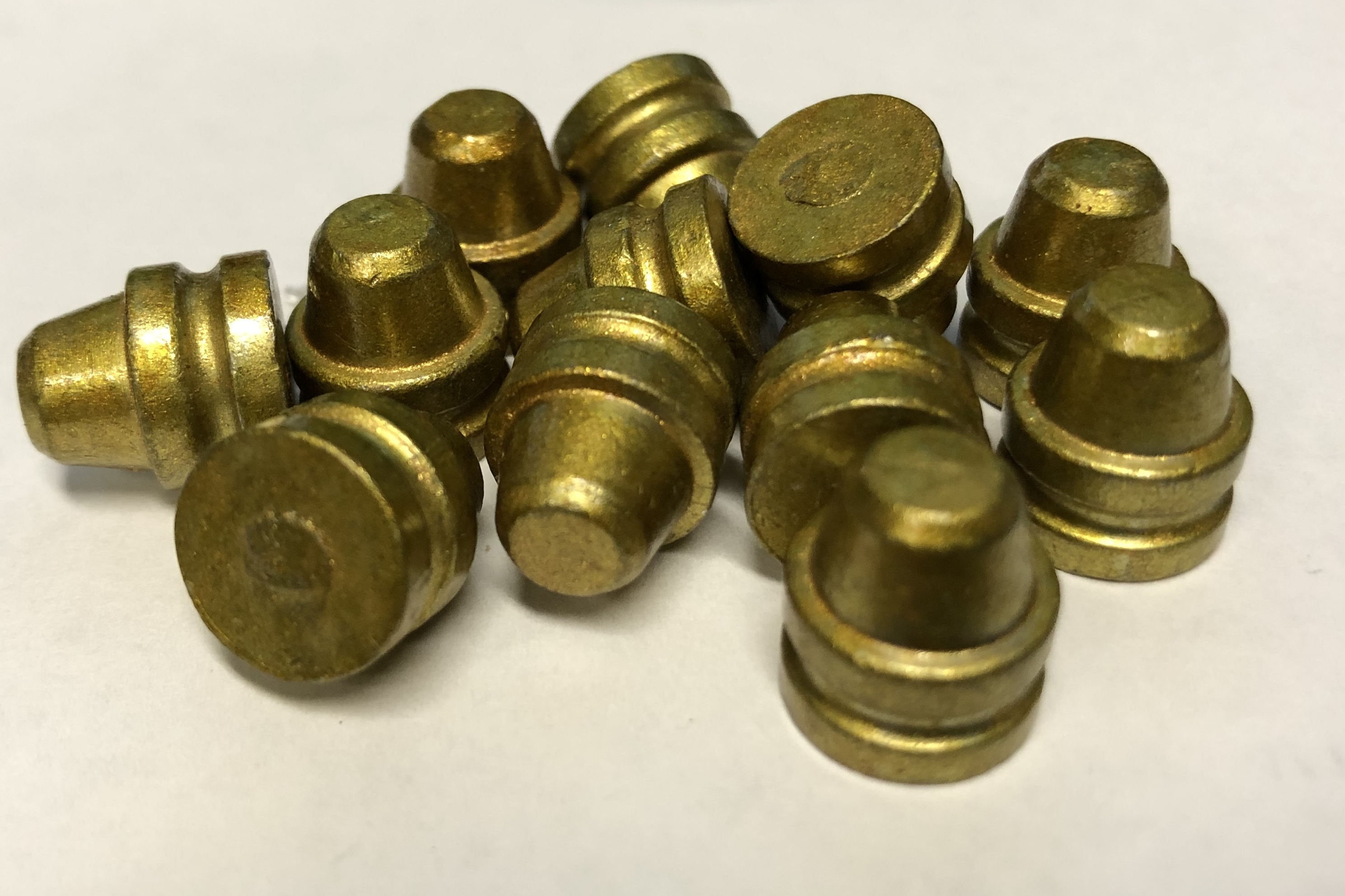 45 160gr Button Nose/Flat Base/Groove (656ct , $0 064/bullet)