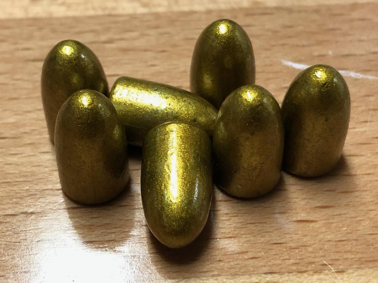 9mm 147gr Round Nose/Bevel Base/No Groove (710ct , $0 059/bullet)